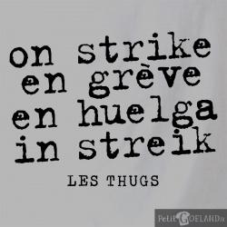 En grève