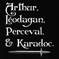 Arthur Léodagan Perceval Karadoc