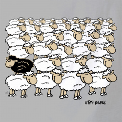 Stay Rebel Moutons