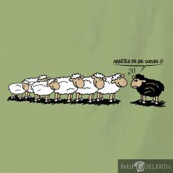Arrêtez de me suivre moutons