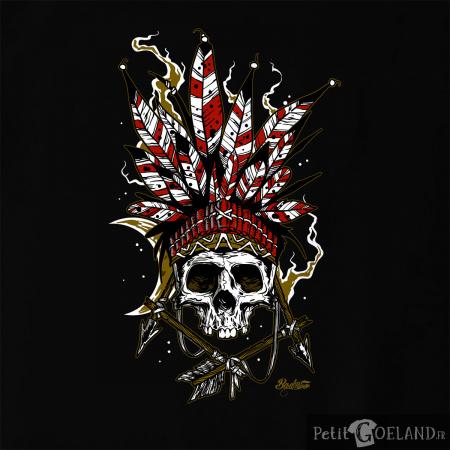 Arrows Skull Feathers