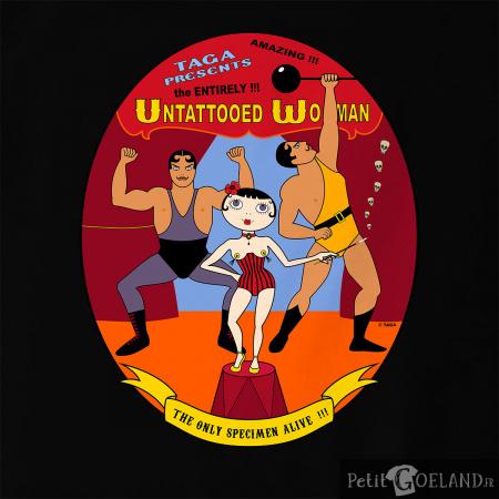 Untattooed Woman