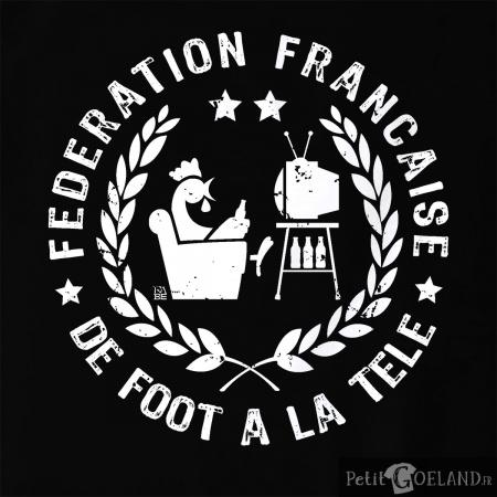 Fédération de foot à la Télé