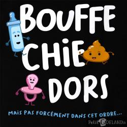 Bouffe Chie Dors